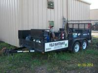 FIELD MAINTENANCE TRAILER HAS BEEN USED BUT STILL WORKS