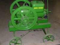 John Deere gas engine has been gone through and runs
