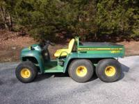 I am selling my John Deere Gator 6x4. This Gator