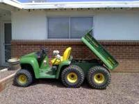 Excellent Condition. 6x4 John Deere Gator. Will