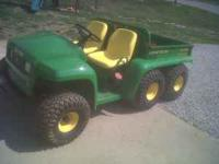 John Deere Gator 6x4 Diesel 570 Hours. Runs good and