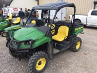 2013 JOHN DEERE XUV 550, GAS, 87 HOURS. VIRTUALLY NEW.