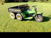 hi i have an amt 600 gator it runs great it is 4x4 it