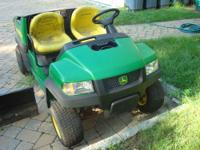JOHN DEERE GATOR 4X2 CS - Complete with (attachable)