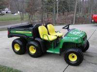 .Gator 6 Wheel- ONLY 42 Hours- Year 2011-Trailer Hitch