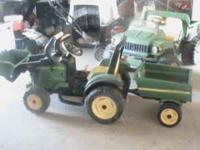 I am selling a John Deere tractor with loader and