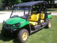 2012 John Deere XUV 550 S4 4x4 The following describes