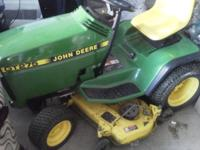 I am selling moms GT 275 mower It is a real Deere not a