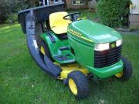 "This has a 16hp Kohler engine, 42"" mower deck, Electric"