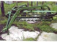 John Deere Hay Rake - $950 For more information please