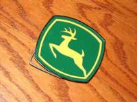 Selling new John Deere hitch cover $10  Location: Alvin
