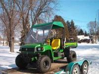 I have a 2005 JD Gator 4x4 HPX in Very Good condition