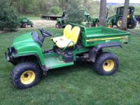 JOHN DEERE HPX 4X4 GATOR V-TWIN LIQUID COOLED 20 HP