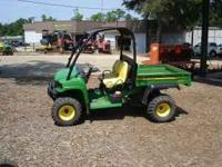 John Deere Diesel HPX Gator Utility vehicle. Looks and