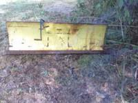 "54"" John Deere hydraulic snow plow - F900 series. This"