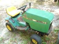 I have a tractor with a good Kawasaki 18 HP engine,