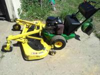 "Nice K14 John Deere 54"" commercial mower only 590hrs on"