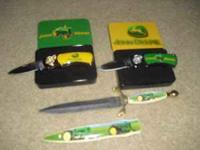 i have three john deere knives in cases in excellent