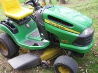 "Up for sale John Deere L120 @ 42"" Deck 21HP ,(LOW"