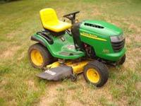 John Deere L120 mower for sale. Nice clean machine with