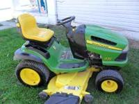 JOHN DEERE LA 150 149HRS 54 IN CUT PLEASE CALL  OPEN TO