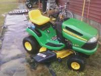 Up for sale is a 2010 John Deere LA115 Lawn Mower I