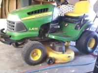Moving.. must sell my 2008 LA135 John Deere Tractor. It