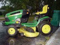 John Deere riding mower - (Rockford) for Sale in Rockford