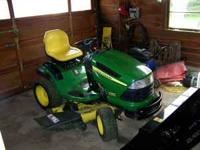 "John Deere LA140 Lawn Mower $1400.00 48"" cut Great"