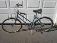 I have two blue John Deere Ladies 3-Speed bikes. The