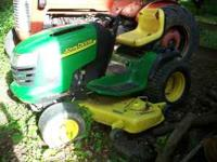 "2004 John Deere G100 54"" mowing deck. Runs excellent!"