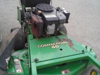 John  Deere GS75 MOWER commercial grade ? walk