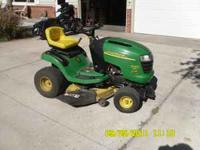 2002 John Deere L110 Lawn Tractor. This is the real