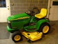 john deere gt 235 lawn and garden tractor with 54 in.