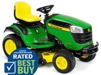 This like new lawn tractor has only been used three