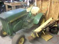 63 JOHN DEERE LAEN TRACTOR MOVER RUNS GREAT