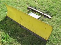 This is a John Deere snow blade off of a model 111 lawn