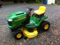 2007 John Deere lawn tractor, hydrostatic trans, Kohler