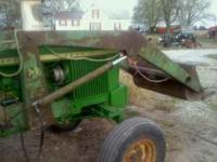For sale I have a John Deere loader number 37 trip
