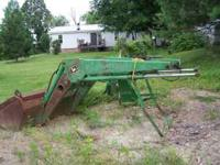 John Deere 146 loader with all parts and joy stick