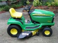 13HP Kohler Command with a 5 speed manual trans and a