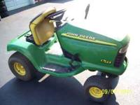 Parting out a John Deere LT 155 lawn tractor. Transaxle
