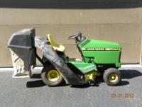 John Deere LX173 Lawn Tractor in very good condition. ?