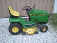 John Deere LX 188. 17hp with V-twin liquid cooled