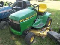 Must sell! 17hp liquid-cooled Kawasaki engine, 48""