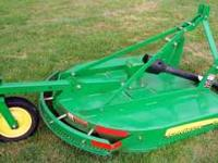 John Deere LX4 Bush Hog....4 foot wide...Minimal
