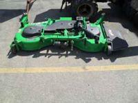 FOR SALE IS A JOHN DEERE 60IN MID MOWER DECK IN GOOD
