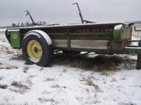I have a nice John Deere Model 33 Manure Spreader,