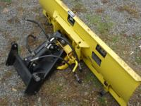 Snow is coming! For sale a 4 way hydraulic plow that