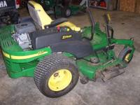 2004 model, 757 Z Track, 25hp Kawasaki, 1385 hrs with